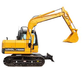 FR90V8挖掘机