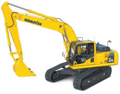 PC270-8挖掘机