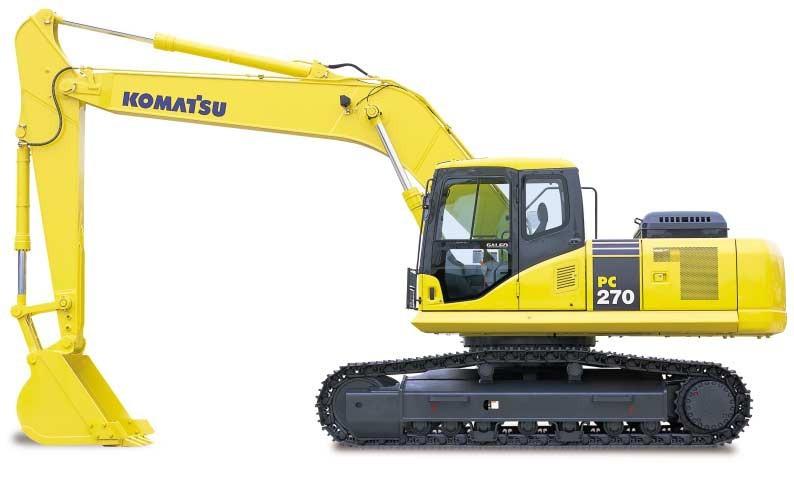 PC270-7挖掘机