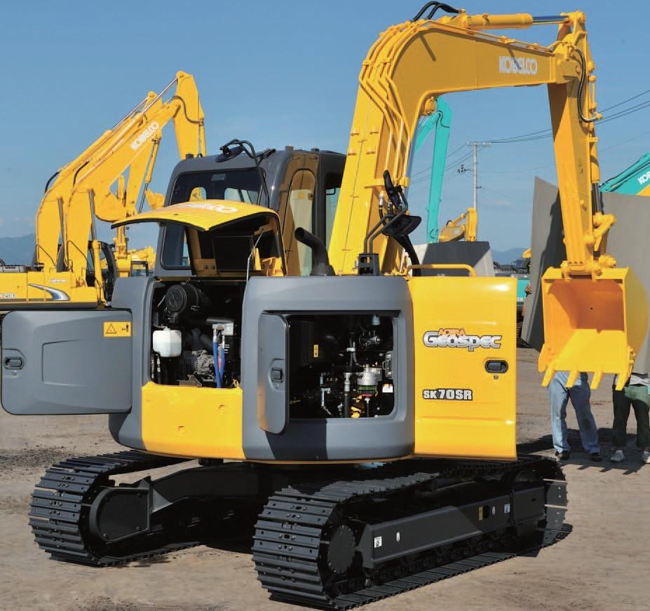 SK70SR-2挖掘机