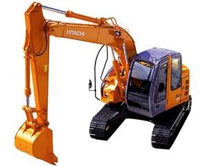 ZX135US挖掘机