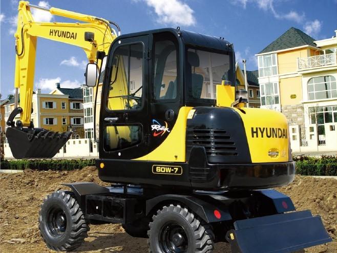 R60w-7挖掘机