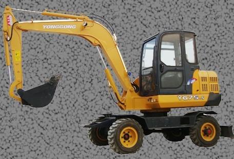 YG75-5挖掘机