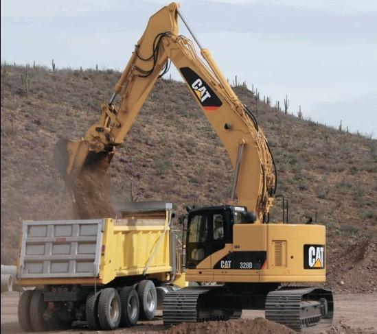 328DLCR挖掘机