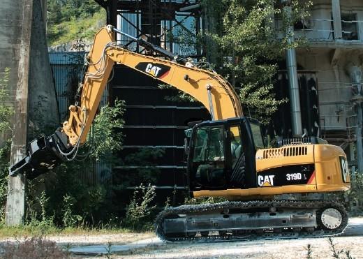 319DL挖掘机