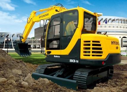 R80-9挖掘机
