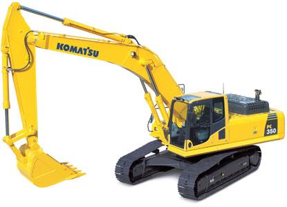 PC350-8挖掘机