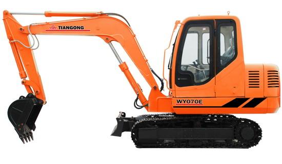 WY070E挖掘机