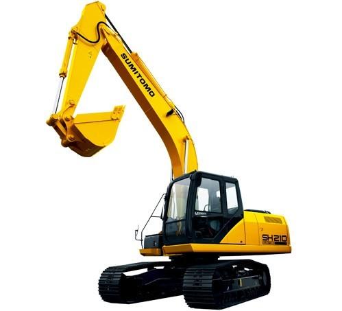 SH210-5挖掘机