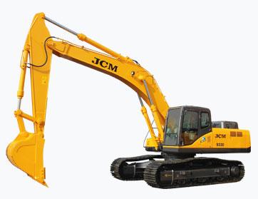 933D挖掘机