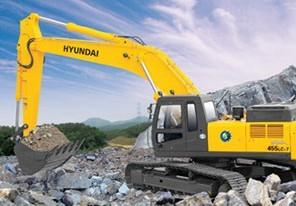 R455LC-7挖掘机