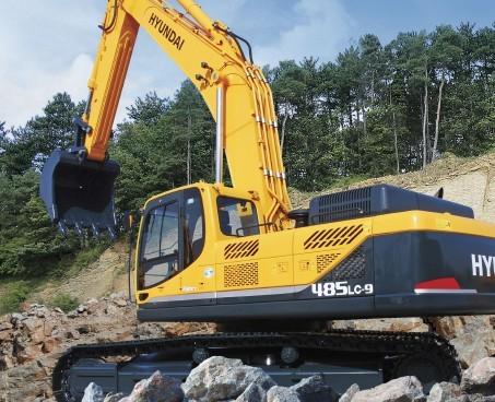R485LC-9挖掘机