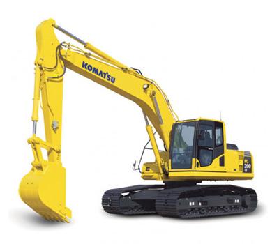 PC200LC-7挖掘机