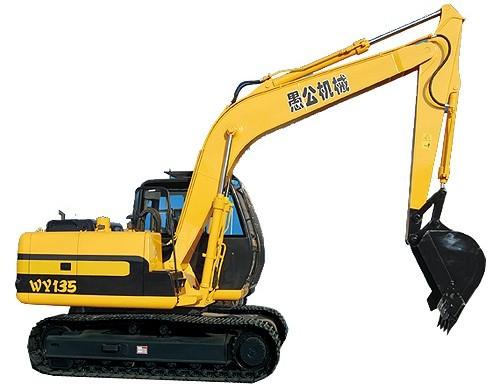 WY135挖掘机
