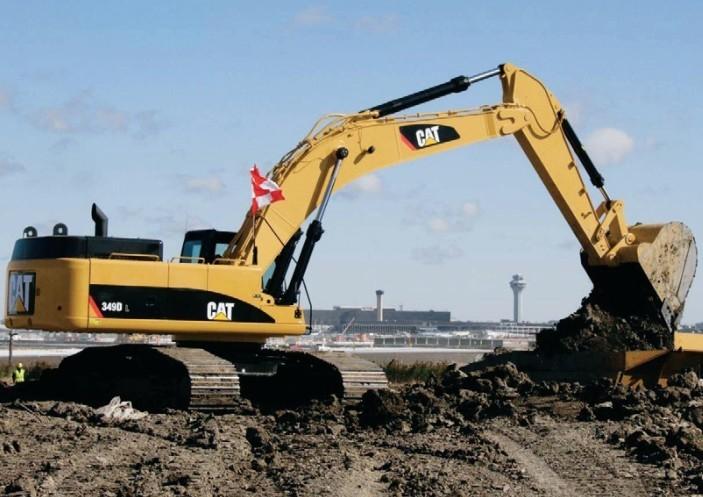 349DL挖掘机