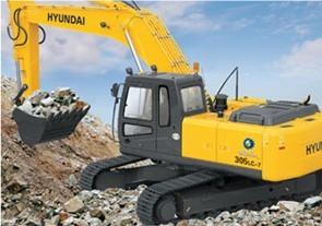R305LC-7挖掘机
