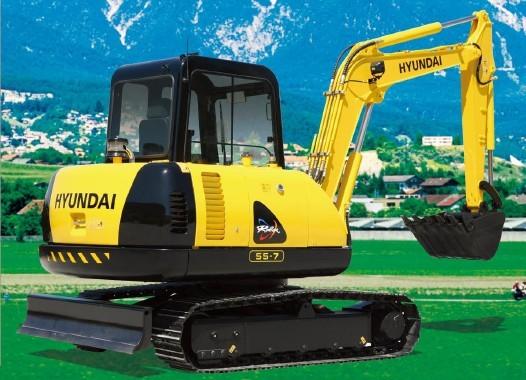 R55-7挖掘机