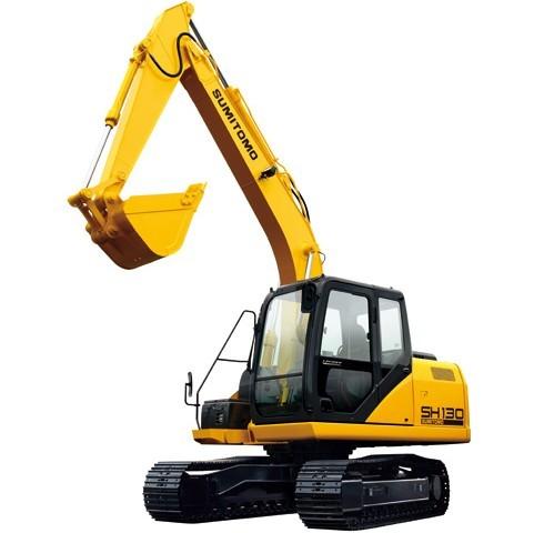 SH130-5挖掘机