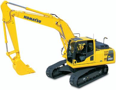 PC200-8挖掘机