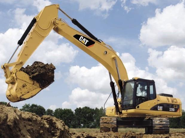 329D挖掘机