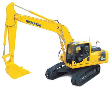 PC220-8挖掘机