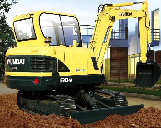 R60-9挖掘机