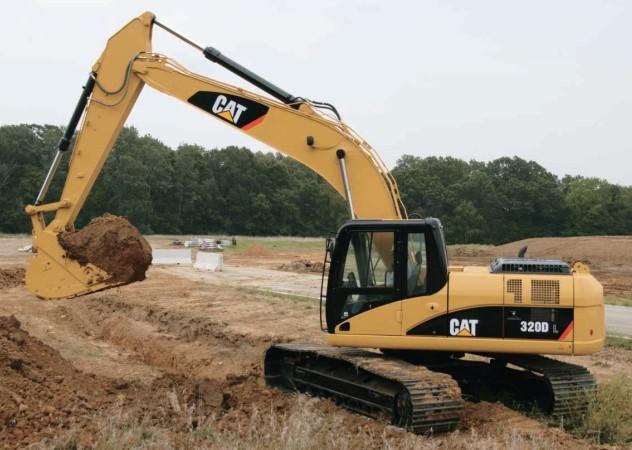 320D挖掘机