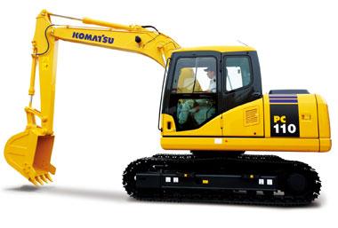 PC110-7挖掘机