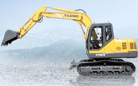 CY85-8挖掘机