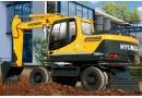 现代R150w-9挖掘机