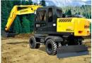 现代R150W-7挖掘机