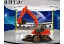 恒特HTL120挖掘机