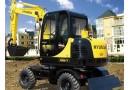 现代R60w-7挖掘机