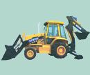 YCW750挖掘装载机