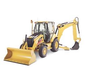416E挖掘装载机