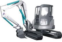 SWEL55挖掘装载机