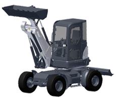 山河智能SWEL60挖掘装载机
