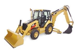 420E挖掘装载机