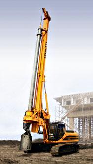 福田雷沃FR612B旋挖钻机