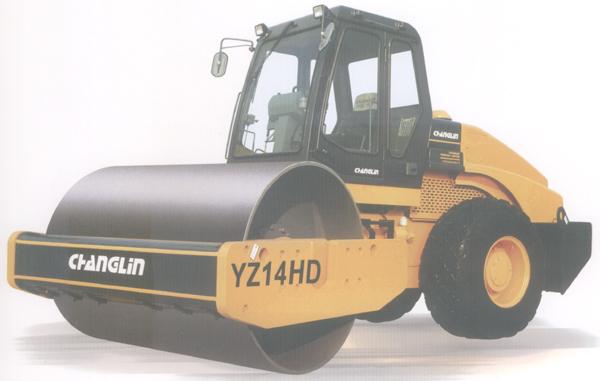 YZ14HD压路机