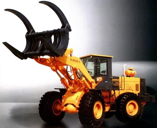 ZLM50E-5抓车装载机